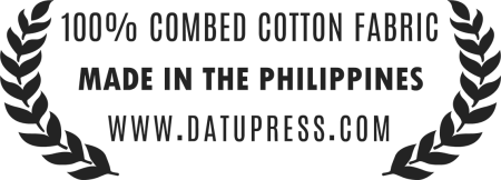 100% Cotton, Made in the Philippines